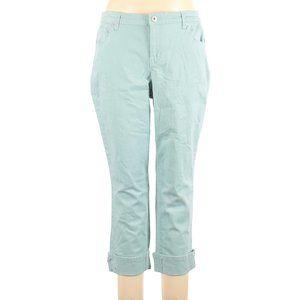 Style & Co Plus Size Curvy Cuffed Capri Jeans 14W
